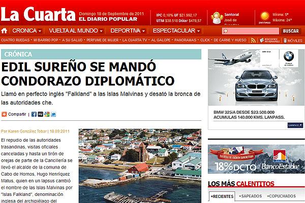 Ausencia de fueguinos en acto oficial chileno cobró relevancia ...