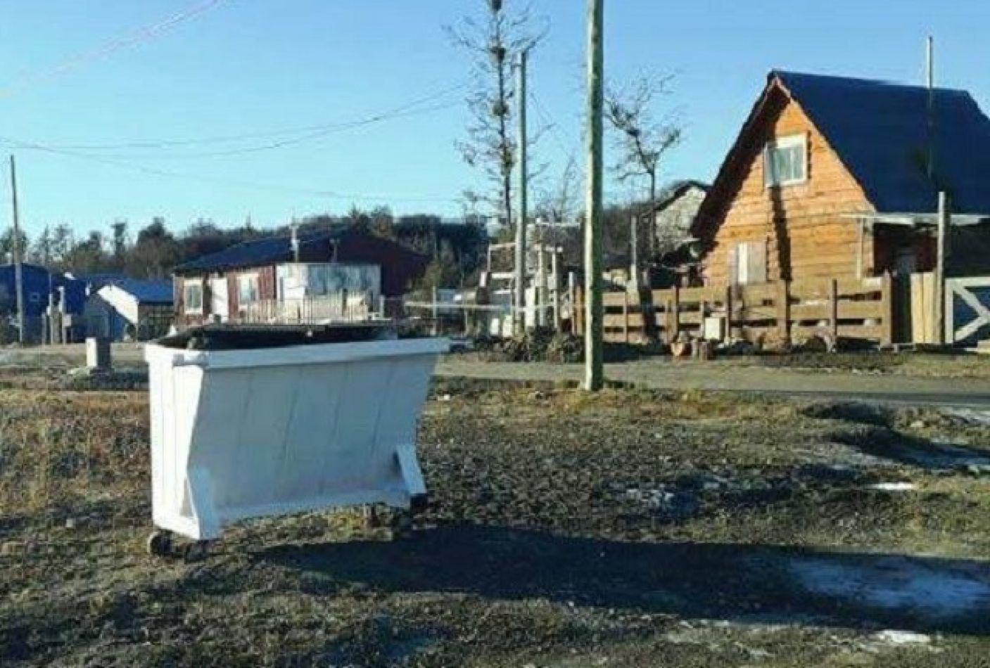 Los contenedores serán retirados cuando culmine la veda invernal.
