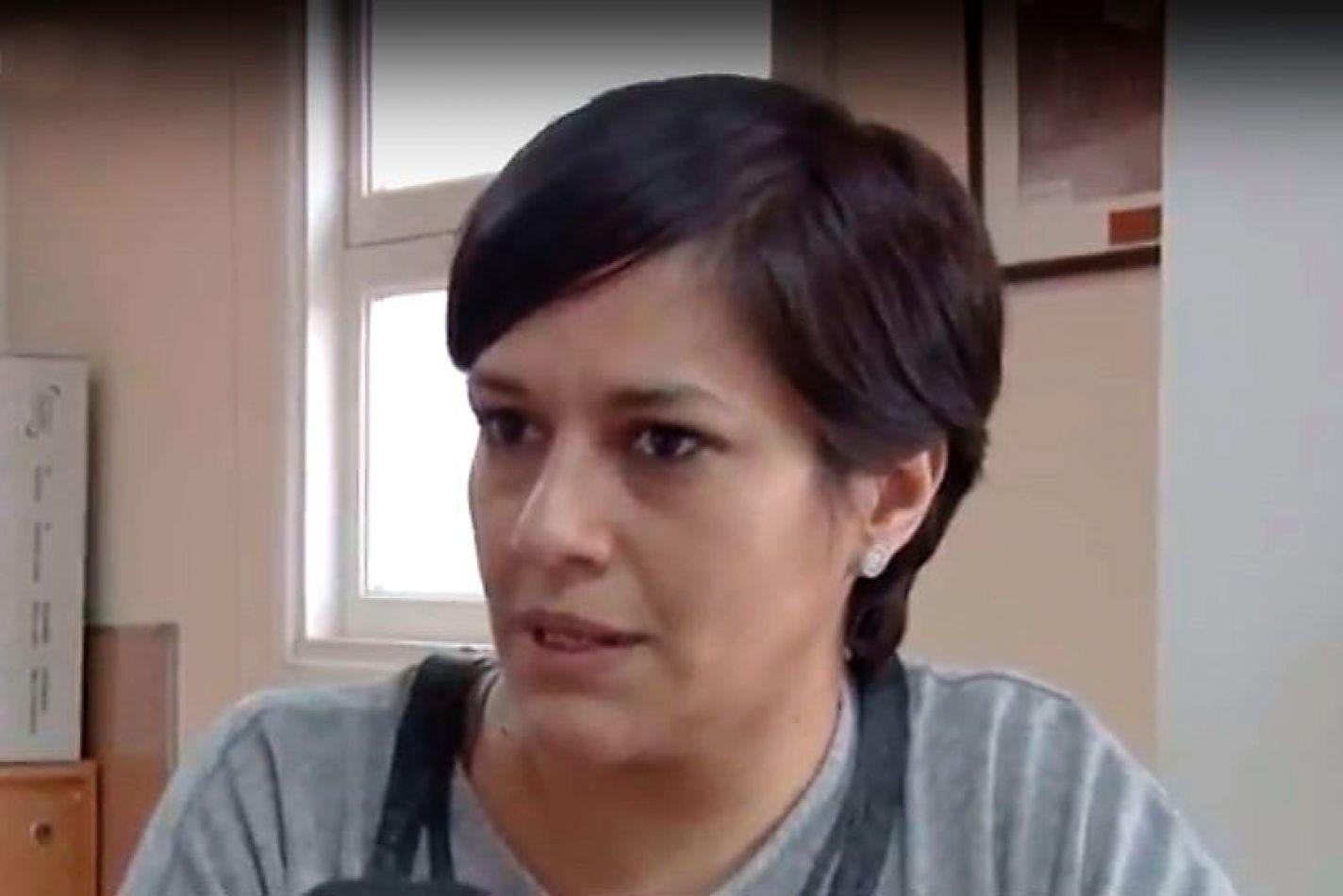 Analia Cubino expuso una situación límite.