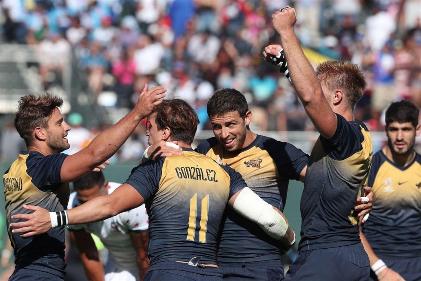 5° puesto conseguido por los Pumas 7s en el Mundial de San Francisco