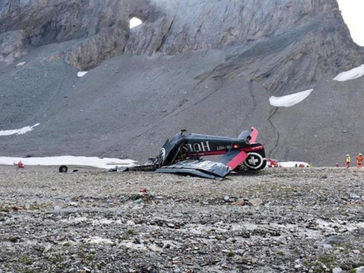 Se trata del peor accidente en la historia del transporte aéreo suizo desde que se estrellara un avión de Crossair en el año 2001, en el que murieron