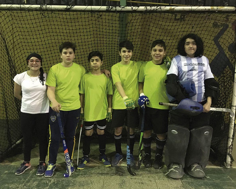 El equipo masculino que es una mixtura de varios clubes.