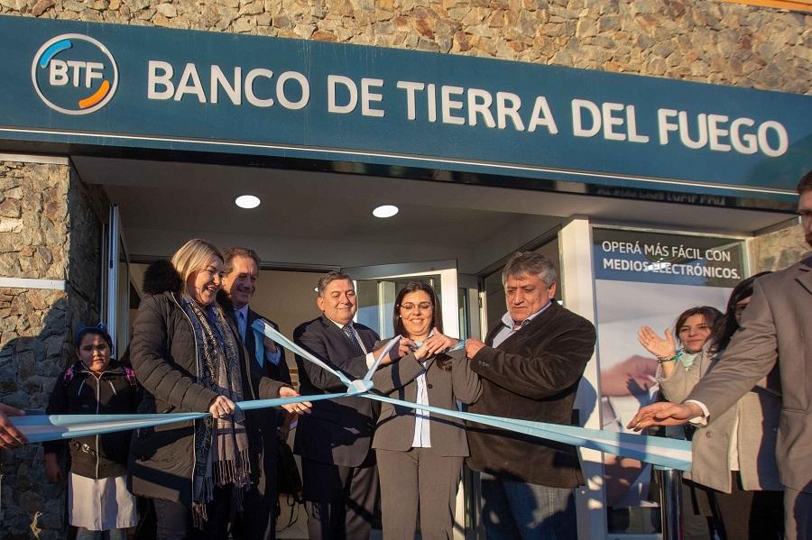 Se inauguró la Sucursal de Banco de Tierra del Fuego en esa ciudad de Tolhuin