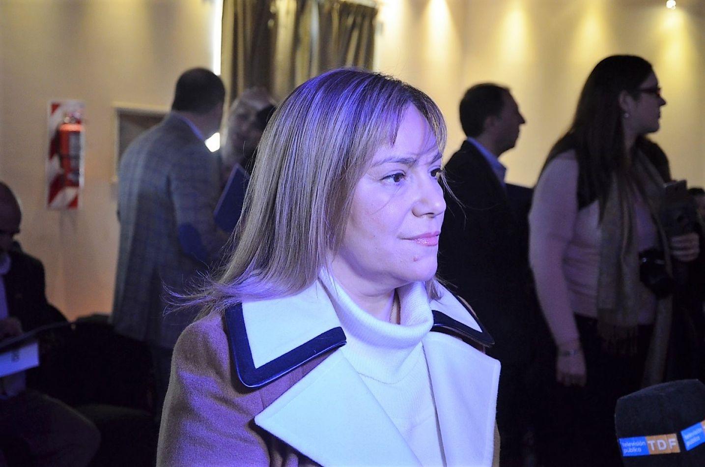 Miriam Boyadjian, senadora nacional.